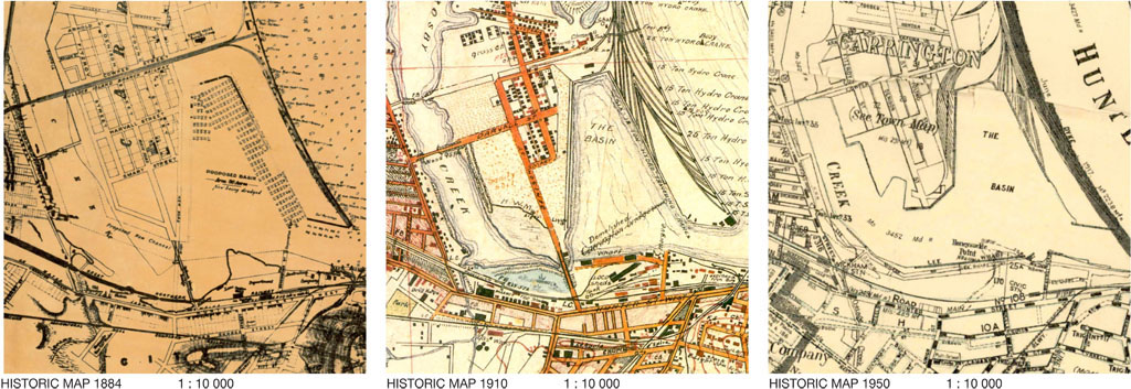 Historical Maps Carrington